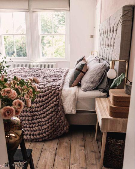 Time for bed yet? http://liketk.it/2QXA5 #liketkit @liketoknow.it @liketoknow.it.europe @liketoknow.it.home #LTKeurope #LTKhome  . . . . .  #blushpink #gold #bedroominspiration #bedroominspo #bedroomideas #bedlinen #knittedblanket #bedding #chunkythrow #chunkyknit #immyandindi #interior_design #passion4interior #scandinavianinterior #scandinavianstyle #nordicstyle #nordicdesign #nordicinspiration #sovrum #sovrumsinspo #soverom #bedroomgoals #roominspo #blushlove #dream_interiors #interior_delux #homeinteriors