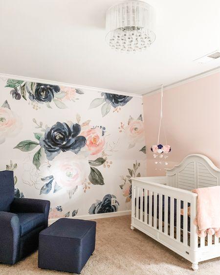 Baby girl nursery inspo - we love all her sweet glamorous details! @liketoknow.it @liketoknow.it.home @liketoknow.it.family #liketkit #LTKbaby #LTKhome #LTKkids http://liketk.it/3iV5G