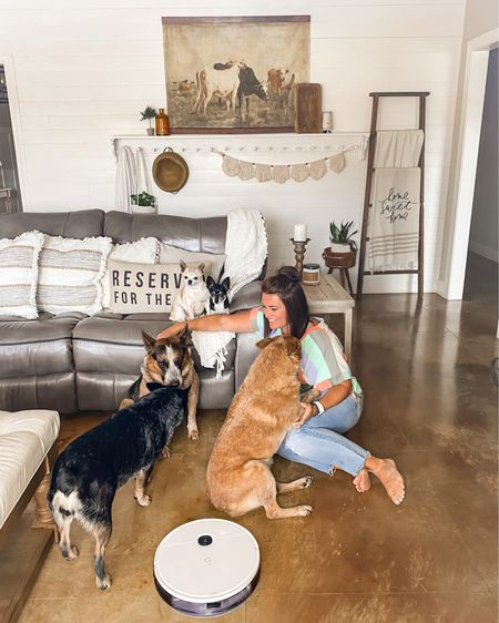Love this robot vacuum with self emptying station! Also this ottoman has been an awesome investment!! http://liketk.it/3jRfS #liketkit @liketoknow.it #LTKhome @liketoknow.it.home