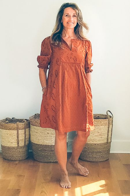 The perfect fall color make this pocket midi dress an absolute gem! Styled from head to toe so you can hit the orchard or tour local vineyards. ♥️  #LTKtravel #LTKstyletip #LTKunder50