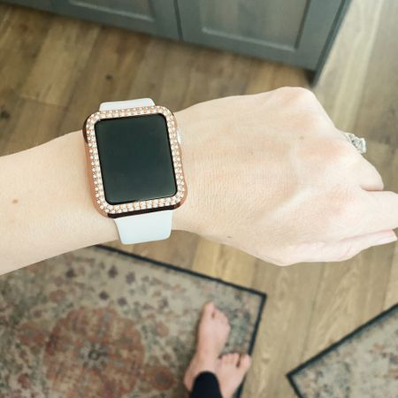 I just added this extra bling with some new bracelets from banana republic and also SHEIN And I totally love them. The combination is amazing. #stackbracelets #bracelets #applewatchaccessories #applewatch #casualwatch   #LTKfamily #LTKfit #LTKunder50