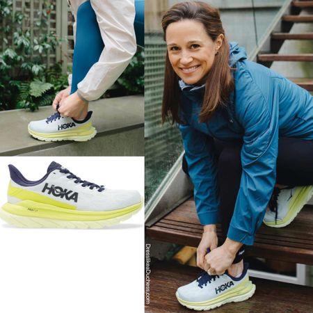 Pippa Middleton Hoka March 4 sneakers #trainers #running #walking #athletic #nordstrom #shoes   #LTKshoecrush #LTKstyletip