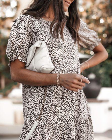 Amazon fashion, wearing size small dress, I'm just shy of 5'7 for reference, amazon dress, summer dress, beach dress, casual date night look, amazon sandals, StylinbyAylin @liketoknow.it #liketkit http://liketk.it/3hULS               #LTKstyletip #LTKunder50 #LTKunder100