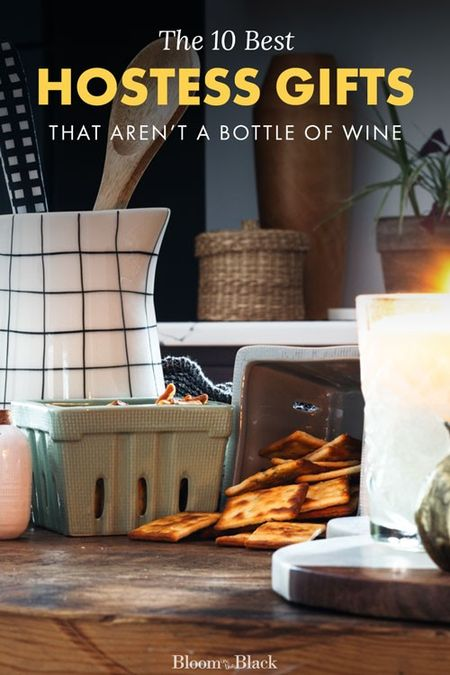 Want ideas for a hostess gift that aren't yet ANOTHER bottle of wine? I've curated this list of the 10 best gifts to bring the host at your next party. Shop picks that range from a gorgeous agate cheese board to personalized serving spoons.  #LTKhome #LTKgiftspo