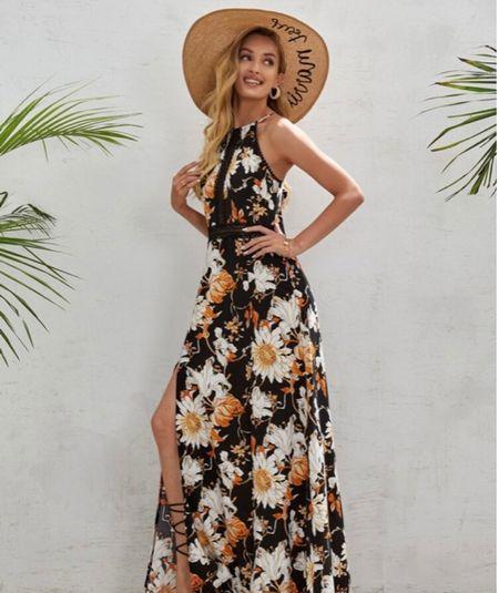 I think every single lady needs a dress like this in her closet!   #LTKunder50 #LTKSeasonal #LTKsalealert