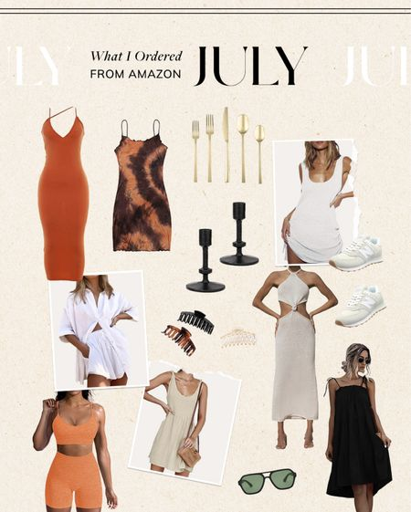 what I ordered from Amazon in July #amazon