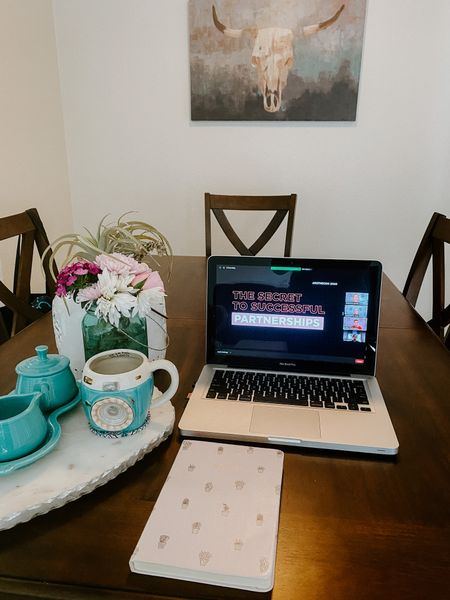 The cutest turquoise Fiesta Creamer set is on sale! Adorable camera lens coffee mug, the cutest marble serving tray and pink cactus notebooks for all those notes during #rStheCon   #LTKsalealert #StayHomeWithLTK #rStheCon