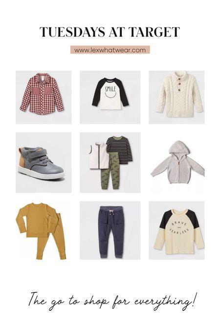 Tuesdays at Target: Fall Boy Clothes!   #LTKfamily