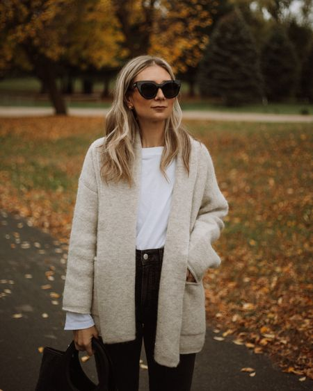 Casual cardigan, easy fall outfit, neutral outfit   #LTKSeasonal
