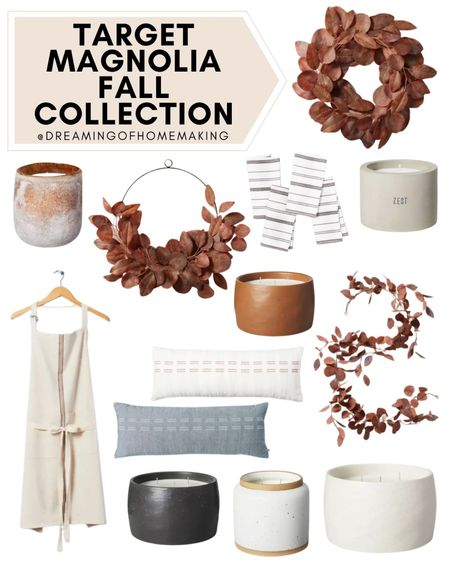 Target magnolia fall collection!!  Dreaming of Homemaking | #DreamingofHomemaking   #LTKunder50 #LTKunder100 #LTKhome