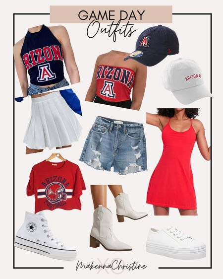 Cute outfits for college game day!