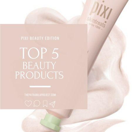 Top 5 Pixi Beauty skincare favorites. Peel & Polish, DetoxifEYE, Hydrating Milky Mist, Rose Oil Blend, Glow Tonic. http://liketk.it/3n1pc @liketoknow.it #liketkit #LTKbeauty #LTKunder50 #LTKSeasonal