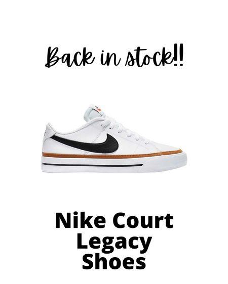 Women's Nikes, nikes, white sneakers, court legacy, white tennis shoes, white shoes. #LTKshoecrush #LTKunder100 #LTKstyletip #liketkit @liketoknow.it http://liketk.it/3apgS