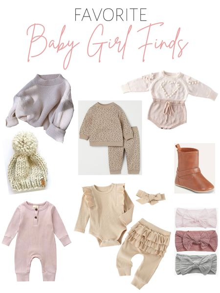 Baby girl outfits / fall fashion シ  #LTKkids #LTKunder50 #LTKbaby