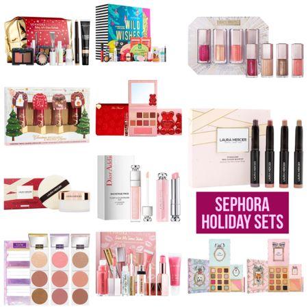 New Sephora Holiday Gift Sets! Links in LTK  #sephora #gift #giftidea #holiday #deals #deal #toofaced #tarte #teamtarte #dior #lauramercier #christmas #makeup #skincare #selfcare #beauty #beautyhaul #LTKbeauty #LTKsalealert #LTKunder50 @liketoknow.it #liketkit http://liketk.it/2XtSc