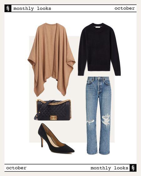 October fall outfit idea #falloutfits  #LTKunder100 #LTKstyletip #LTKunder50