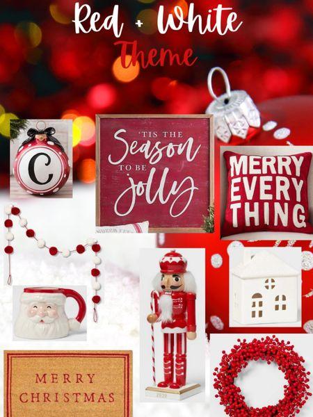 RED & WHITE CHRISTMAS DECOR ❤️ #liketkit http://liketk.it/30RWi #StayHomeWithLTK #LTKhome #LTKsalealert @liketoknow.it