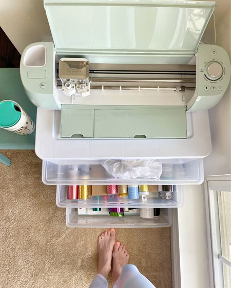 Spring cleaning and organizing. Storage and crafting. Cricut.   #LTKhome #StayHomeWithLTK #LTKunder50