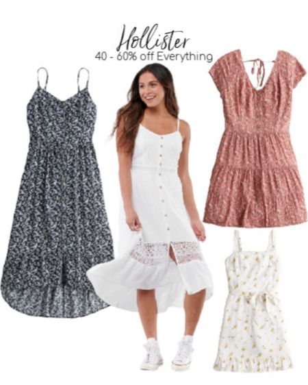 Hollister Summer Dress favorites! Can't you guys just picture these on a beach or at a bbq?!    http://liketk.it/2PrvO #liketkit @liketoknow.it #LTKunder50 #LTKstyletip #LTKsalealert