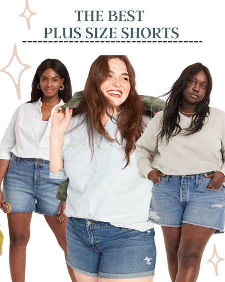 It's time to start shopping for shorts! These are the cutest plus-size shorts on the internet. http://liketk.it/3cmZm #liketkit @liketoknow.it #LTKcurves #plussize