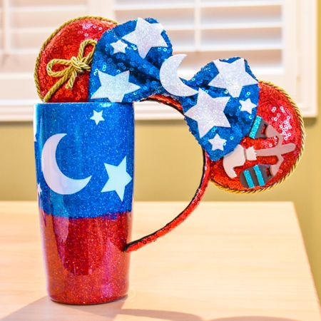 Some imagination, huh? Getting creative with my Disney accessories always gets my imagination running! These handmade products from Etsy are too gorgeous! ❤️✨💙 #etsy #disney #mouseears #glitter #spring #disneygifts #shopsmall #smallshop #LTKunder50 #LTKstyletip http://liketk.it/3eZhf #liketkit @liketoknow.it