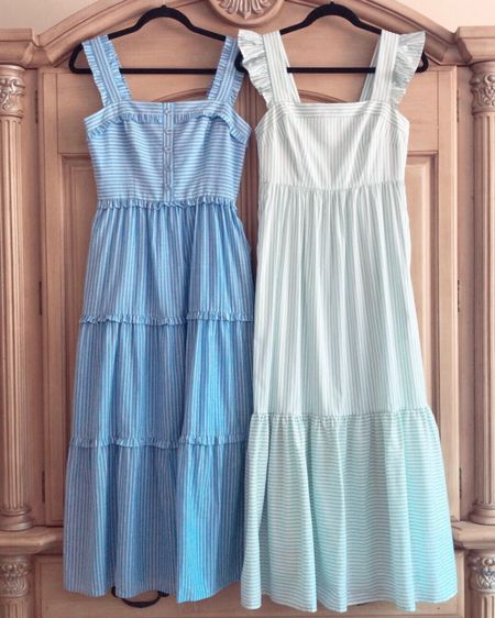 Gal Meets Glam Collection dresses - Courtney and Jasmine. Both in a size 2! // http://liketk.it/2Bi4D @liketoknow.it #liketkit #LTKspring #gmgonme #galmeetsglam #springdresses #stripeddress