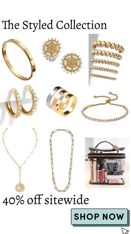 The Styled Collection 40% Off sitewide  Jewelry   #LTKSale #LTKunder50 #LTKsalealert