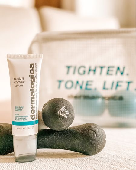 Tighten, Tone, Lift, repeat. 2x per day that is! We're loving Dermalogica's New Neck Fit Contour Serum, and think you will too! Shop your screenshot of this pic with the LIKEtoKNOW.it shopping app http://liketk.it/36mOC #liketkit @liketoknow.it