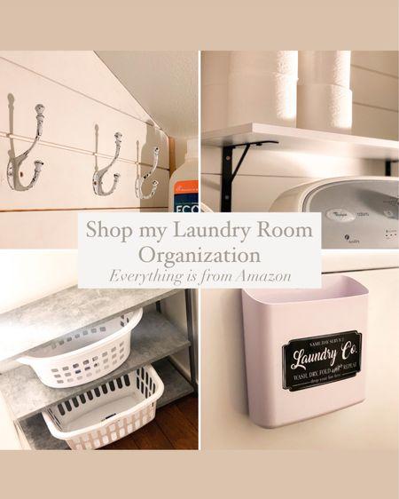 Shop my Laundry Room Organization Everything is from Amazon Home Decor, Laundry Basket, AntiFatigue Mat, Concrete Shelf, Farmhouse Shelf, Floating Shelf, White Shelf, Hypoallergenic Detergent, Vintage Cast Iron Hooks, Organize, Organization, Dryer Lint Container, Home Decor, Kids, Family #StayHomeWithLTK #LTKkids #LTKfamily @liketoknow.it @liketoknow.it.home @liketoknow.it.family #liketkit http://liketk.it/353Cw