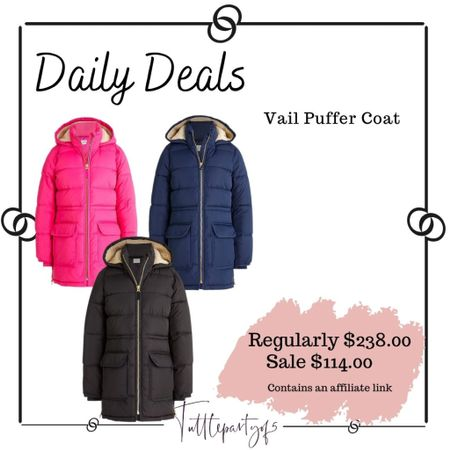 Vail puffer coat     #LTKsalealert #LTKSeasonal #LTKHoliday
