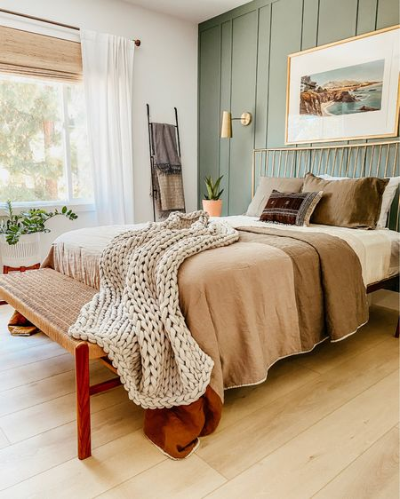 Turn your bedroom into a cozy and relaxing oasis! Shop my favorite pillows, benches, bed frame and more! http://liketk.it/3eXHB #liketkit @liketoknow.it #LTKfamily #LTKhome #LTKstyletip @liketoknow.it.home