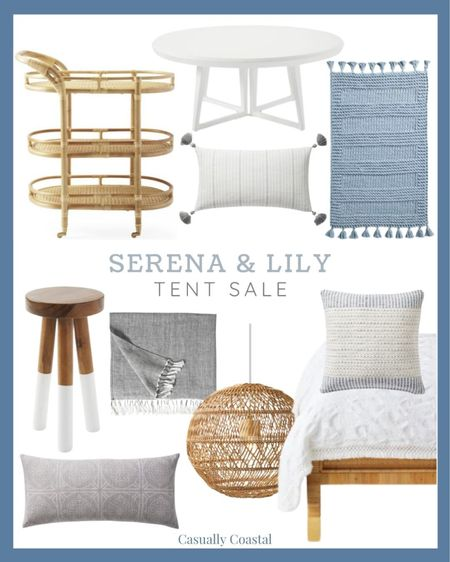 All my favorites from Serena & Lily's tent sale! These will go fast at these discounted prices!  @liketoknow.it @liketoknow.it.home #liketkit #LTKhome #LTKsalealert #LTKunder100 http://liketk.it/3jf8P  summer decor, summer decorations, summer home decorations, coastal decor, beach house decor, beach decor, beach style, coastal home, coastal home decor, coastal decorating, coastal house decor, home accessories decor, coastal accessories, beach style, coastal living room decor, coastal family room, living room decor, blue and white home, blue and white decor, living room furniture, furniture for sunroom, sunroom furniture,, couch pillows, blue and white pillows, blue & white pillows, throw pillows couch, 14x20 throw pillows, lumbar pillows, lumbar throw pillow, lumbar pillows for chair, lumbar pillows for bedroom, serena and lily pillows, blue serena and lily pillows, serena and lily pillows, serena & lily pillows, side tables, wicker tables, living room side tables, bedroom tables side, bedroom side tables, rattan side table, coastal modern, coastal decorating, blue and white bedroom, blue and white bedding, rattan bar cart, serena and lily bar cart, blue and white duvet cover, white duvet cover,  coastal bedding, coastal bed decor,entryway table, sofa table, blue and white shams, , Coffee tables, coastal coffee table, white coffee tables, round white coffee tables, serena and lily sale, serena and lily tent sale, bathroom stool, coastal lighting, coastal lighting fixtures, coastal light, coastal pendant, coastal pendant lights, rattan pendant lights, rattan light, rattan lighting, rattan light pendant, pendant lights, round pendant lights, pendant lights for kitchen, pendant lights for kitchen island, pendant lights for bedroom, natural pendant, natural pendant light, outdoor pendant lights, white bath mats, blue bath mats, linen throw blanket, dip-dyed stools