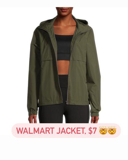 This Walmart jacket is just $7! I ordered the olive and black in medium. http://liketk.it/3jKZF #liketkit @liketoknow.it #LTKunder50 #LTKsalealert #walmartfashion