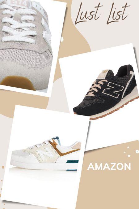 New balance sneakers on amazon for fall  #LTKstyletip #LTKshoecrush #LTKunder100