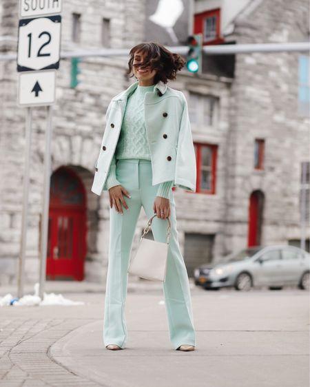 My mint green power suit is on sale 70% off today! http://liketk.it/36MxU #liketkit @liketoknow.it
