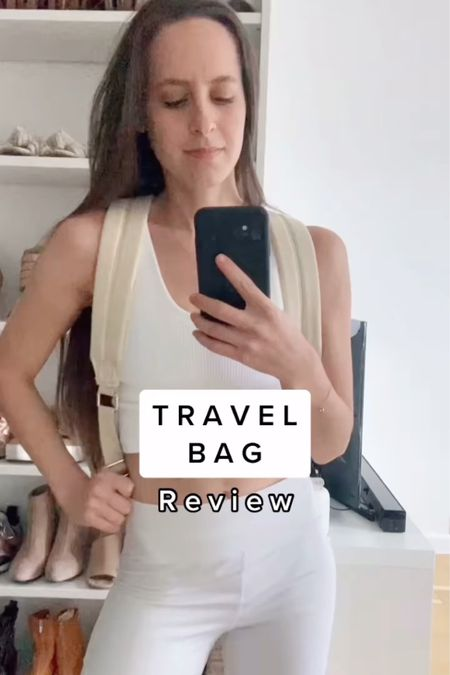 This is for the people who wanted to see more help with packing for post-pandemic. Can't wait to share more mock packs in the @beis backpack  . . . .  http://liketk.it/39It8 #liketkit @liketoknow.it #LTKtravel #LTKunder100   #organize #organization #vacation #travel #travelpack #pack #packing #packingcubes #backpack #travelbag #bag #bagreview #beis