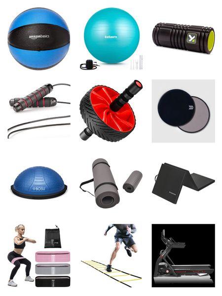 At home workout and home gym equipment. http://liketk.it/32KBg #liketkit @liketoknow.it #LTKhome #LTKsalealert #LTKunder100 #cybermonday #cybermondaydeals #athomegym