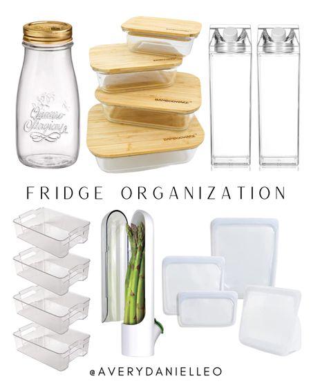 Everything you need for an organized, dream worthy refrigerator. 😍 Go organize those veggies & stock your fridge with everything deLISH!   #LTKhome #LTKunder50