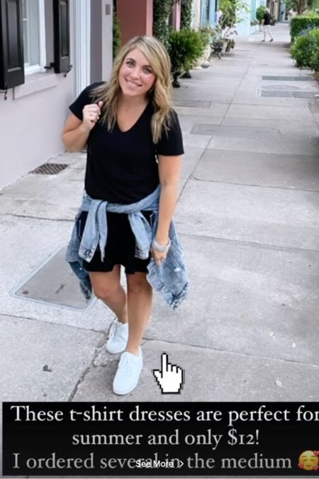 #liketkit @liketoknow.it http://liketk.it/3hvCP A t-shirt dress for only $12! Get them while you can folks! You can instantly shop my looks by following me on the LIKEtoKNOW.it shopping app!