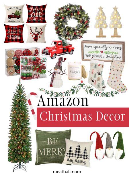 Amazon Christmas decor for the home             #ltkfall #ltkfamily #ltkstyletip #ltkunder50  Christmas decorations, Christmas decor, holiday decorations, amazon home decor, Christmas trees, indoor Christmas decorations    #LTKhome #StayHomeWithLTK #LTKunder100 http://liketk.it/2Z5IZ #liketkit @liketoknow.it
