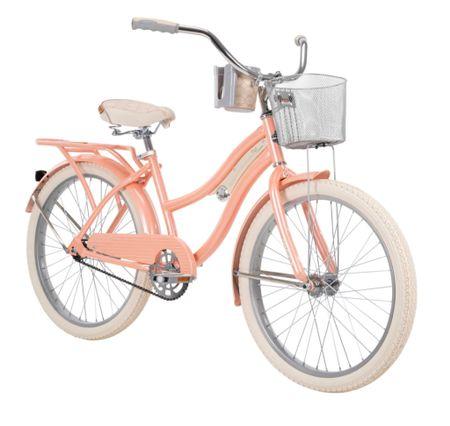Cute bike with front basket for summer and by the beach   #LTKSeasonal #LTKhome #LTKsalealert