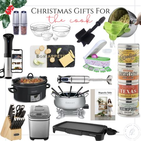 Gift guide for the cook! ✨🎄 http://liketk.it/32QVu #liketkit @liketoknow.it  #giftguide #cooking #kitchen #foodie