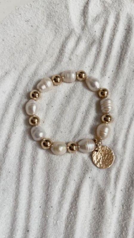 Stylin by Aylin collection, 14k gold filled jewelry, fresh water pearl collection, fresh water pearl, summer jewelry, summer accessories, StylinByAylin   #LTKSeasonal #LTKstyletip