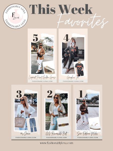 Fashionably Lena This week favorites   #LTKsalealert #LTKSeasonal #LTKshoecrush