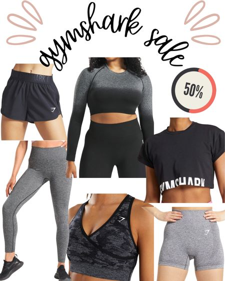 Gymshark workout clothes sale : leggings, biker shorts, crop top, sports bra http://liketk.it/3aBPY #liketkit @liketoknow.it #LTKfit #LTKunder50 #LTKsalealert