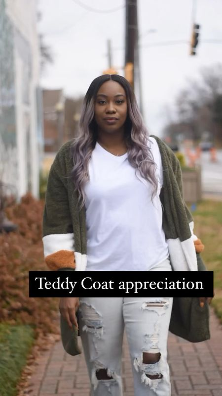 Teddy coat appreciation 🐻  #Teddycoat #teddycoatlove #Wintercoats #affordablecoatfinds #affordablefinds #winterwear  #LTKNewYear #LTKunder50 #LTKstyletip