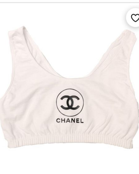 Just this cute Chanel Bralette  top! So simple and would look so cute with girlfriend light colored jeans! http://liketk.it/323Ob #liketkit @liketoknow.it #LTKsalealert #LTKunder100 #LTKunder50 @liketoknow.it.brasil @liketoknow.it.europe @liketoknow.it.family @liketoknow.it.home