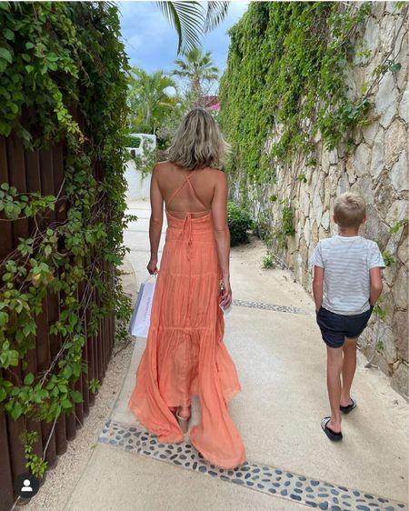 Kristin Cavallari's coral color cut out maxi dress http://liketk.it/3hSqE #liketkit @liketoknow.it #LTKwedding #LTKtravel #LTKstyletip