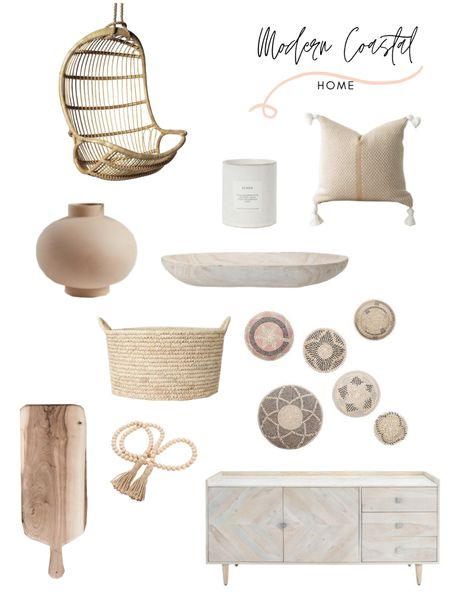 Modern costal home decor is my current favorite. I love the cool relaxed vibe it offers while still being classy and modern. These are just a few of my favorite modern coastal home decor finds. And how about that rattan hanging chair?! Shop any of these beauties directly! http://liketk.it/3fWUJ @liketoknow.it #liketkit @liketoknow.it.home @liketoknow.it.family #LTKstyletip #LTKhome #LTKunder100