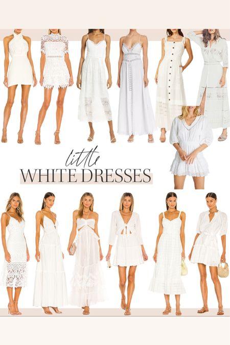 Little white dresses perfect for Memorial Day and summer nights @liketoknow.it http://liketk.it/3fNYW #liketkit #LTKunder100 #LTKstyletip #LTKtravel